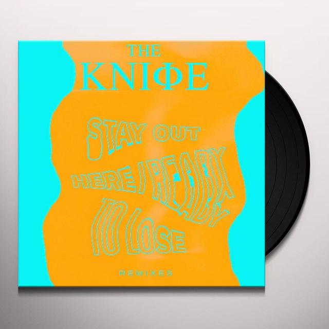 Knife READY TO LOSE / STAY OUT HERE Vinyl Record - Remixes