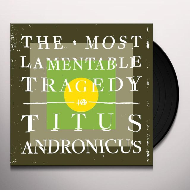 Titus Andronicus MOST LAMENTABLE TRAGEDY Vinyl Record - Digital Download Included