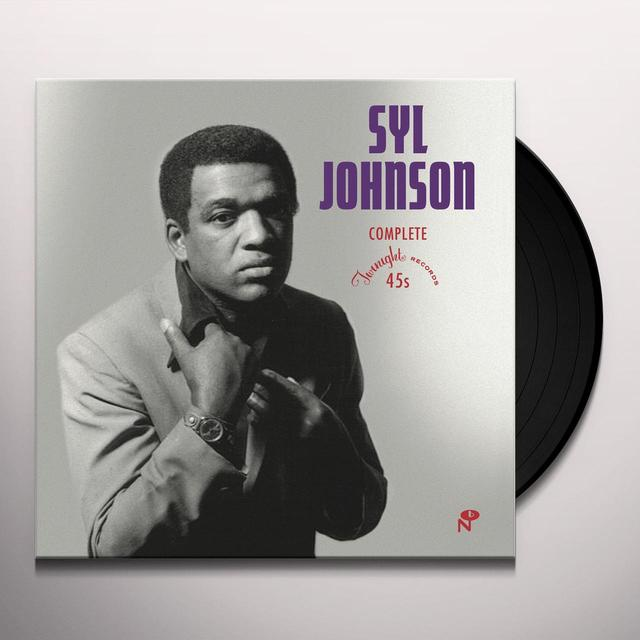 Syl Johnson COMPLETE TWINIGHT SINGLES Vinyl Record