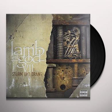 Lamb Of God VII: STURM UND DRANG (TRANSWORLD VERSION) Vinyl Record