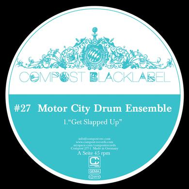 Motor City Drum Ensemble COMPOST BLACK LABEL 27 Vinyl Record