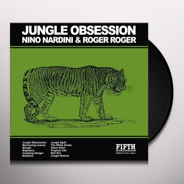 Nino Nardini & Roger Roger JUNGLE OBSESSION Vinyl Record