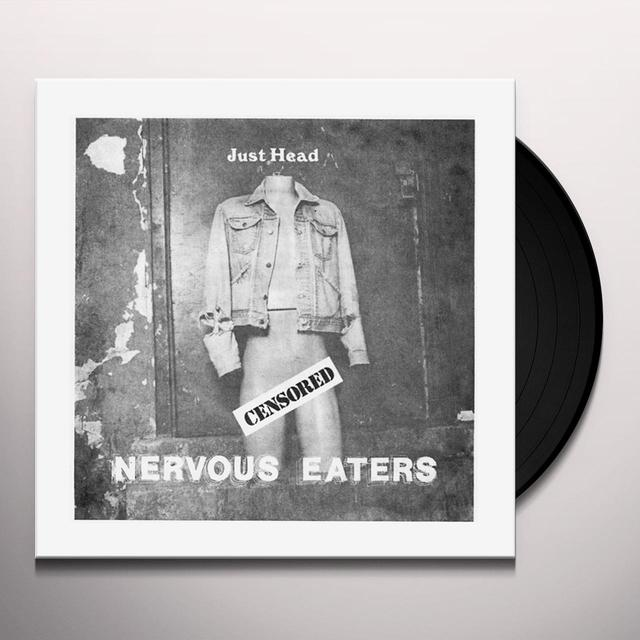 Nervous Eaters JUST HEAD Vinyl Record