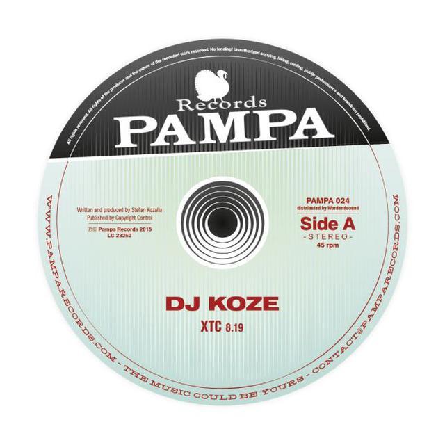 Dj Koze XTC Vinyl Record