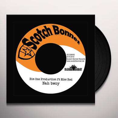 BIM ONE PRODUCTION NAH BWOY / TRAILER LORD RIDDIM Vinyl Record