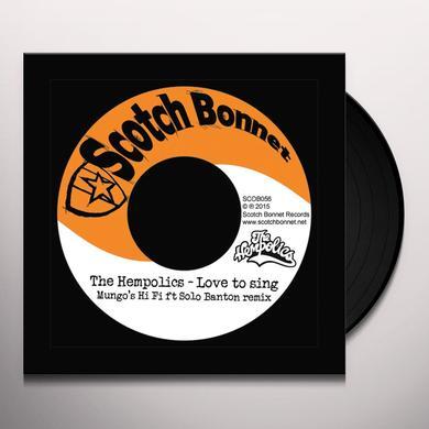 HEMPOLICS / MUNGO'S HI FI LOVE TO SING / DUB TO SING Vinyl Record