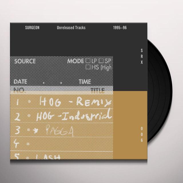 SURGEON UNRELEASED TRACKS 1995-1996 (2014 REMASTER) Vinyl Record