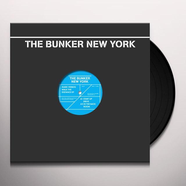 Mark Verbos WALK THE DISTANCE (EP) Vinyl Record
