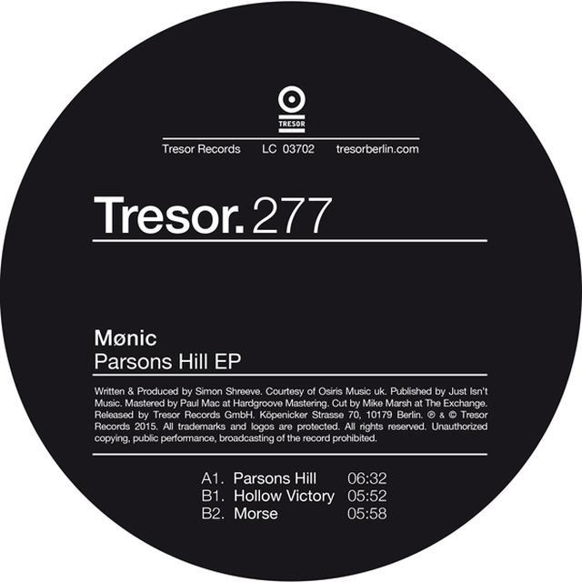MONIC PARSONS HILL Vinyl Record