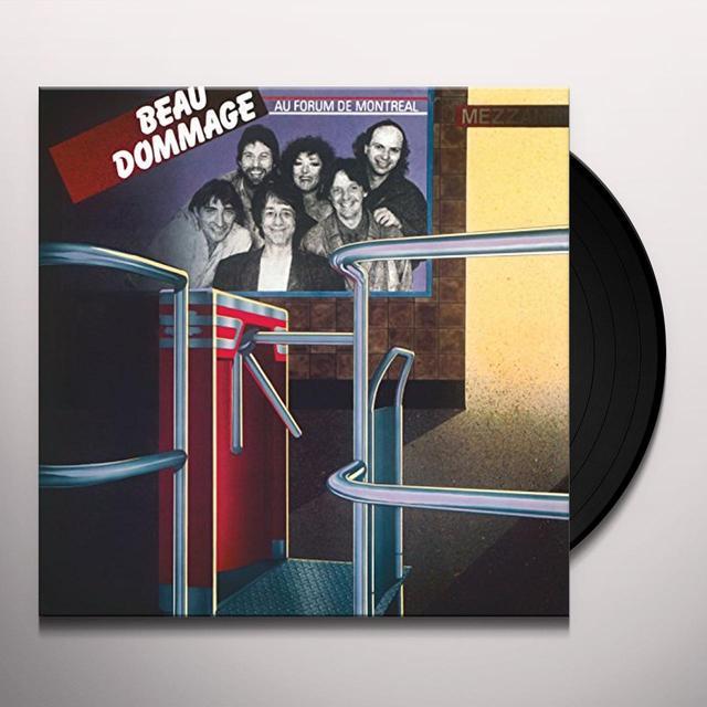 BEAU DOMMAGE AU FORUM DE MONTREAL VOL 1 Vinyl Record - Canada Import