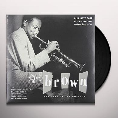 Clifford Brown NEW STAR ON THE HORIZON Vinyl Record - 10 Inch Single, Canada Release