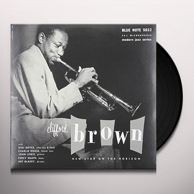 Clifford Brown NEW STAR ON THE HORIZON Vinyl Record - 10 Inch Single, Canada Import