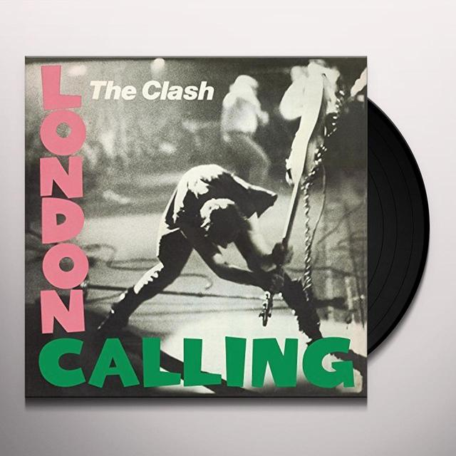 Clash LONDON CALLING Vinyl Record - UK Import