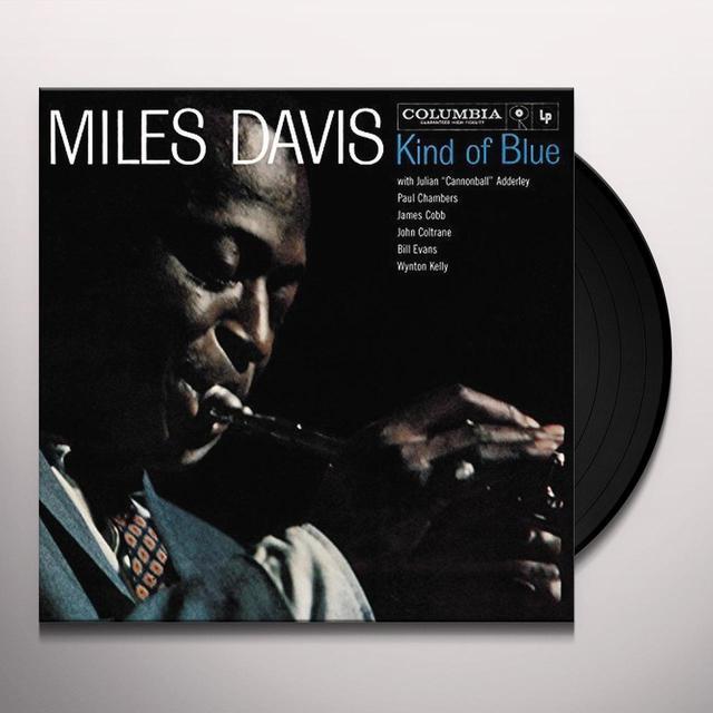 Miles Davis KIND OF BLUE Vinyl Record - UK Import