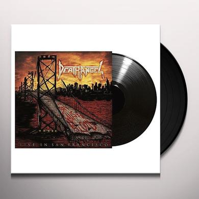 Death Angel TRASHUMENTARY/BAY CALLS FOR BLOOD LIVE IN SAN Vinyl Record - UK Release
