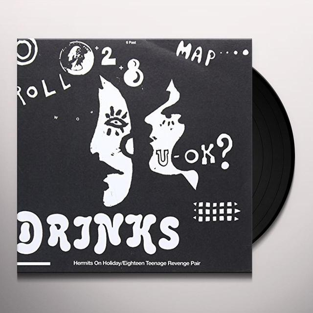 DRINKS HERMITS ON HOLIDAY Vinyl Record - UK Import