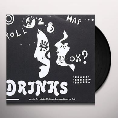 DRINKS HERMITS ON HOLIDAY Vinyl Record - UK Import