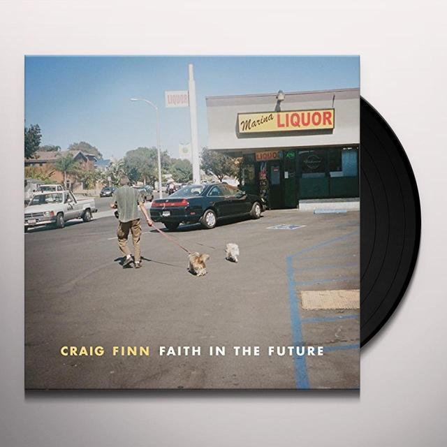 Craig Finn FAITH IN THE FUTURE Vinyl Record