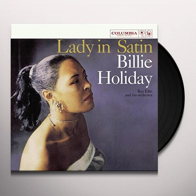 Billie Holiday LADY IN SATIN Vinyl Record - UK Import
