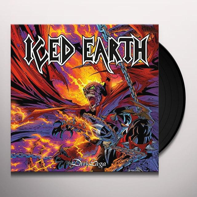 Iced Earth DARK SAGA Vinyl Record - Holland Import