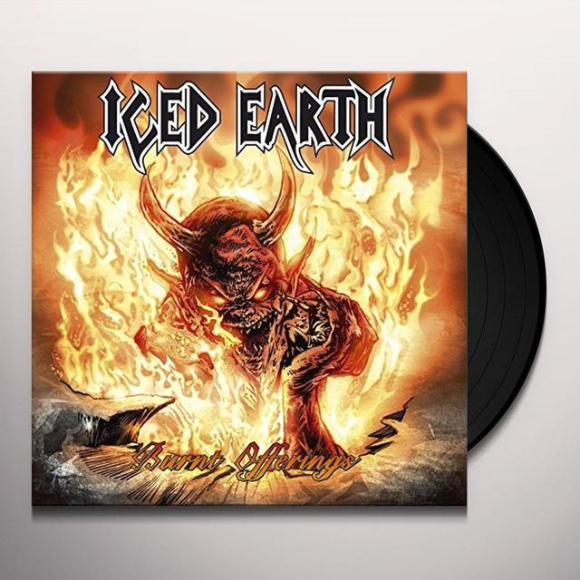Iced Earth BURNT OFFERINGS Vinyl Record - Holland Import