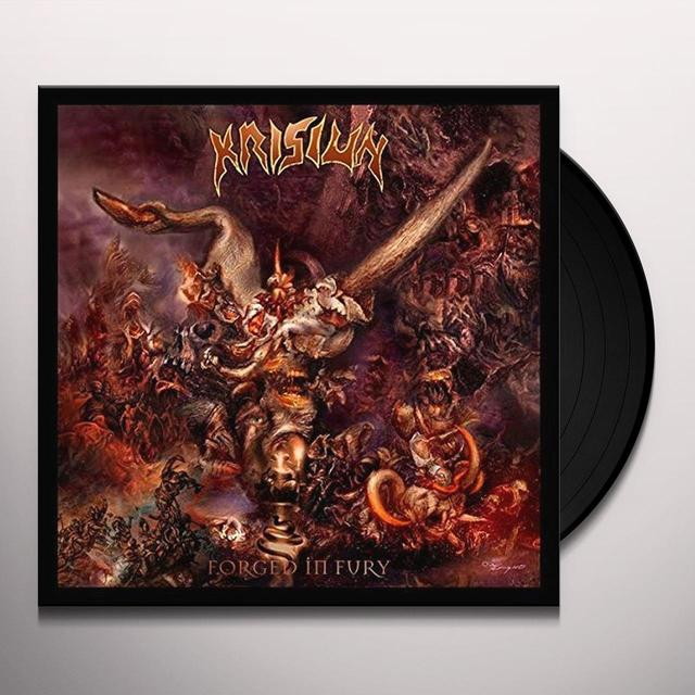 Krisiun FORGED IN FURY Vinyl Record - UK Import