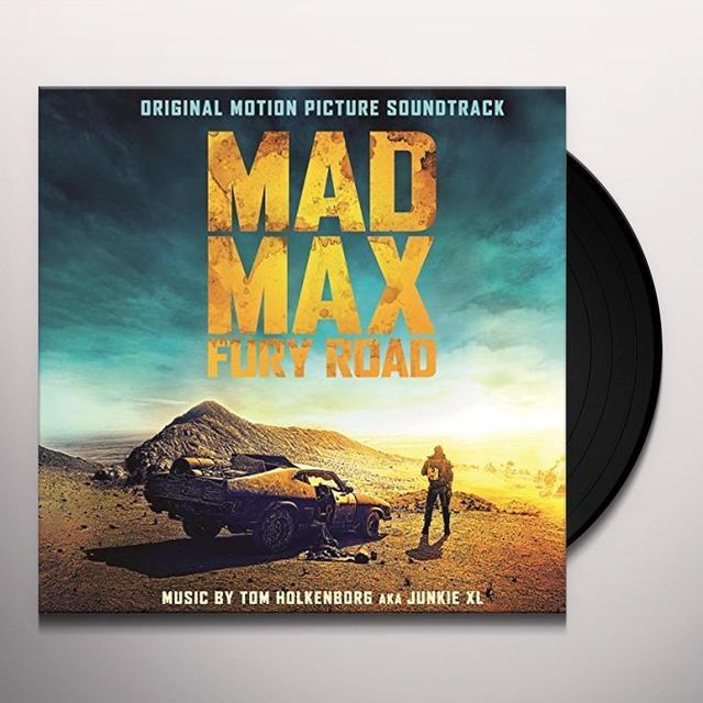 MAD MAX : FURY ROAD O.S.T. (HOL) MAD MAX : FURY ROAD O.S.T. Vinyl Record - Holland Import