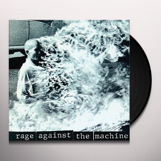 RAGE AGAINST THE MACHINE Vinyl Record - UK Import