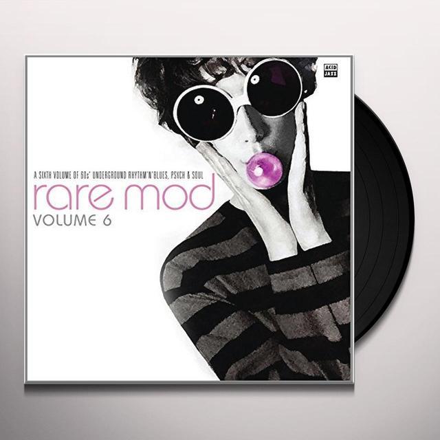 RARE MOD 6 / VARIOUS (UK) RARE MOD 6 / VARIOUS Vinyl Record - UK Import