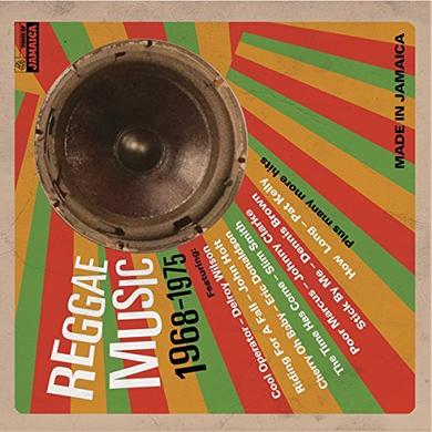 REGGAE MUSIC 1968-1975 / VARIOUS (CAN) REGGAE MUSIC 1968-1975 / VARIOUS Vinyl Record - Canada Release