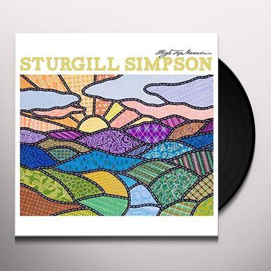 Sturgill Simpson HIGH TOP MOUNTAIN Vinyl Record - UK Import