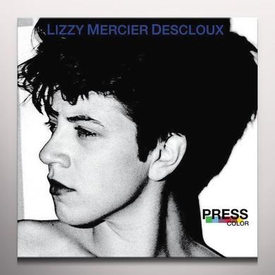 Lizzy Mercier Desloux PRESS COLOR Vinyl Record - Blue Vinyl, Gatefold Sleeve, Poster, Remastered, Digital Download Included