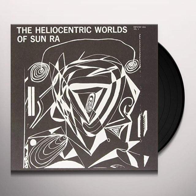 HELIOCENTRIC WORLDS OF SUN RA VOL 1 Vinyl Record - UK Release