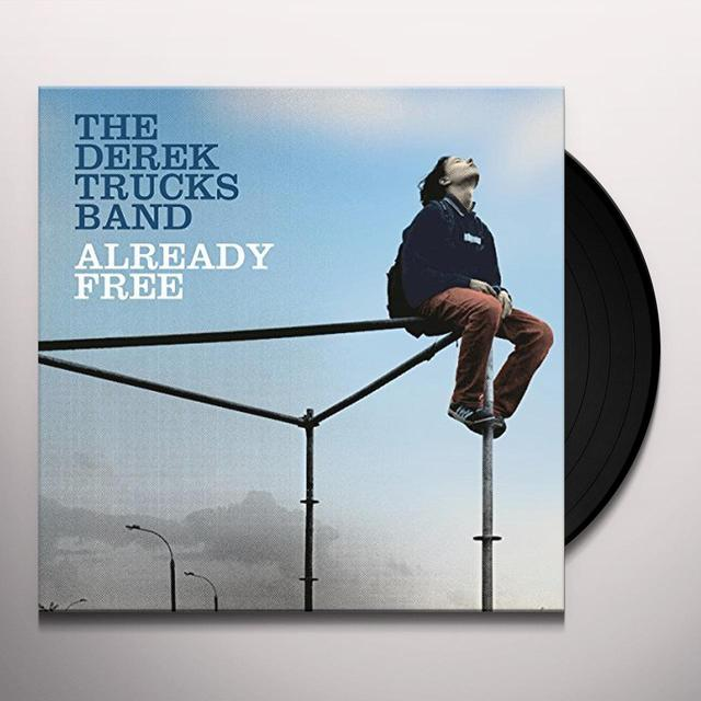 The Derek Trucks Band ALREADY FREE Vinyl Record - Holland Import