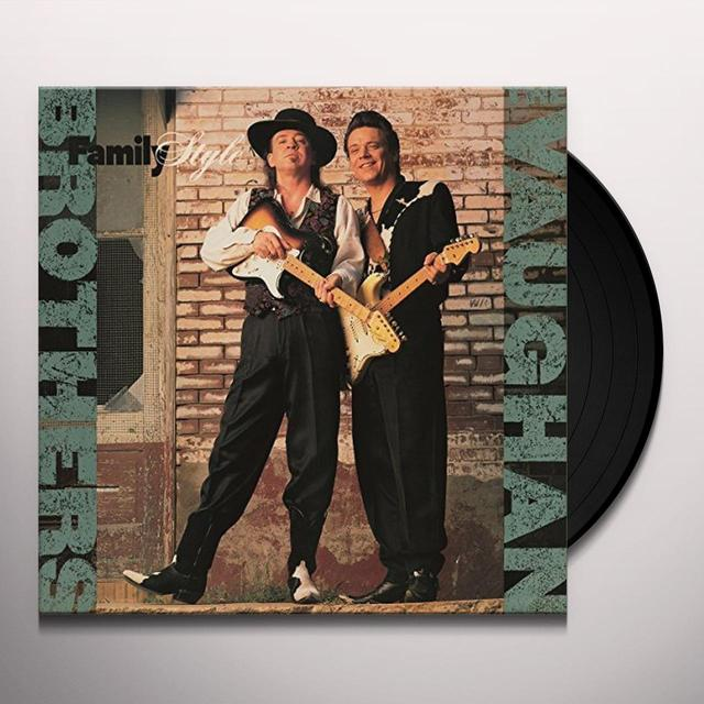 Vaughan Brothers FAMILY STYLE Vinyl Record - Holland Import