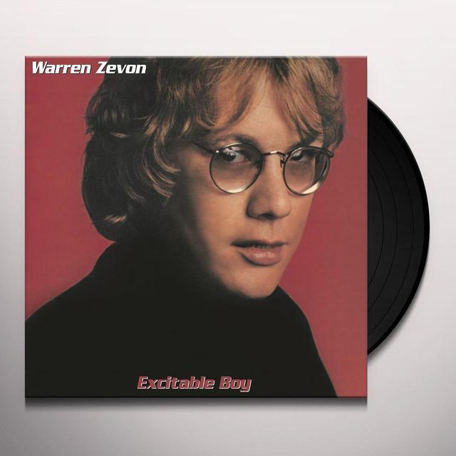 Warren Zevon EXCITABLE BOY Vinyl Record - Holland Import