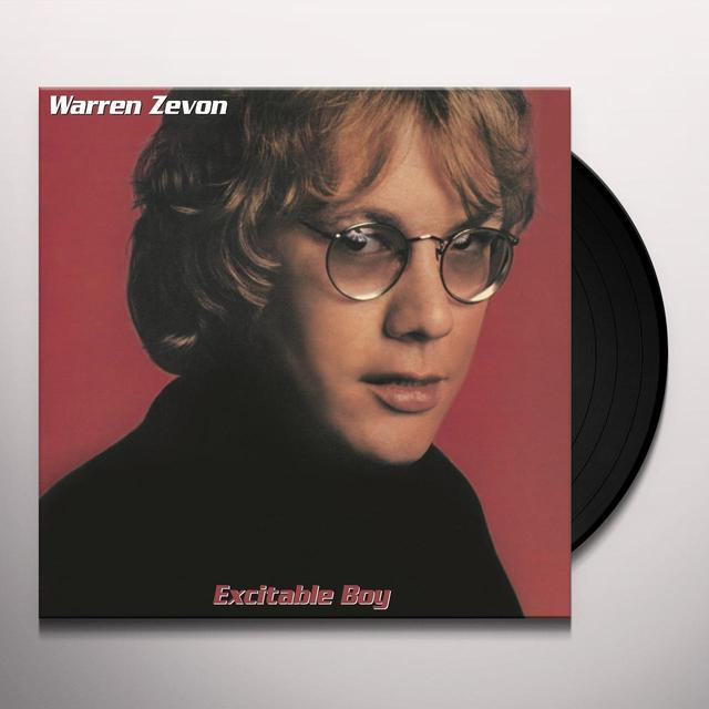 Warren Zevon EXCITABLE BOY Vinyl Record - Holland Import