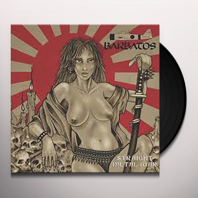BARBATOS STRAIGHT METAL WAR Vinyl Record