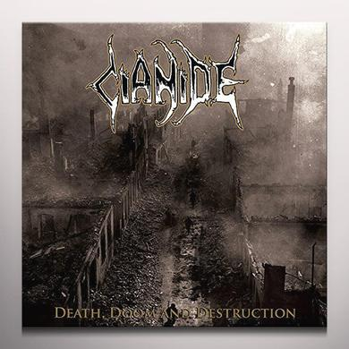 Cianide DEATH DOOM DESTRUCTION Vinyl Record - Colored Vinyl