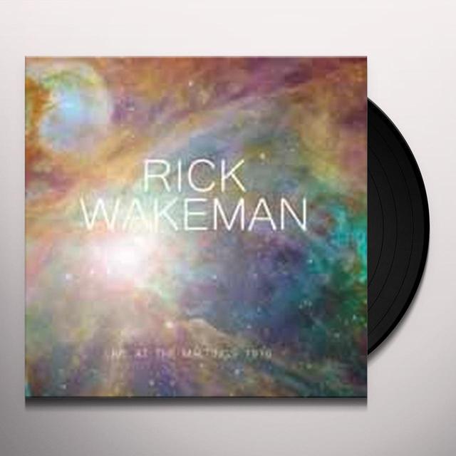 Rick Wakeman LIVE AT THE MALTINGS 1976 Vinyl Record
