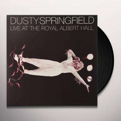 Dusty Springfield LIVE AT THE ROYAL ALBERT HALL Vinyl Record