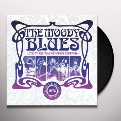 The Moody Blues LIVE AT THE ISLE OF WIGHT 1970 Vinyl Record - Gatefold Sleeve