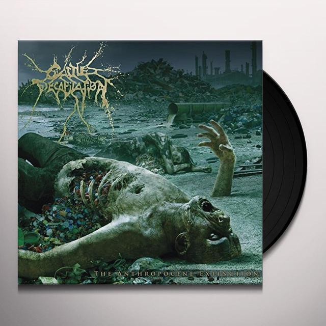 Cattle Decapitation ANTHROPOCENE EXTINCTION Vinyl Record - Gatefold Sleeve