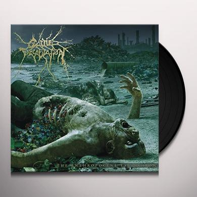 Cattle Decapitation ANTHROPOCENE EXTINCTION Vinyl Record - Gatefold Sleeve