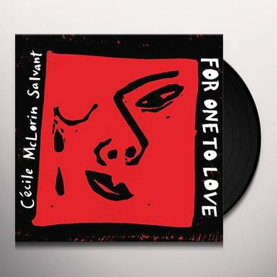 Cécile McLorin Salvant FOR ONE TO LOVE Vinyl Record