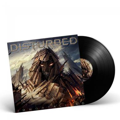 Disturbed IMMORTALIZED Vinyl Record
