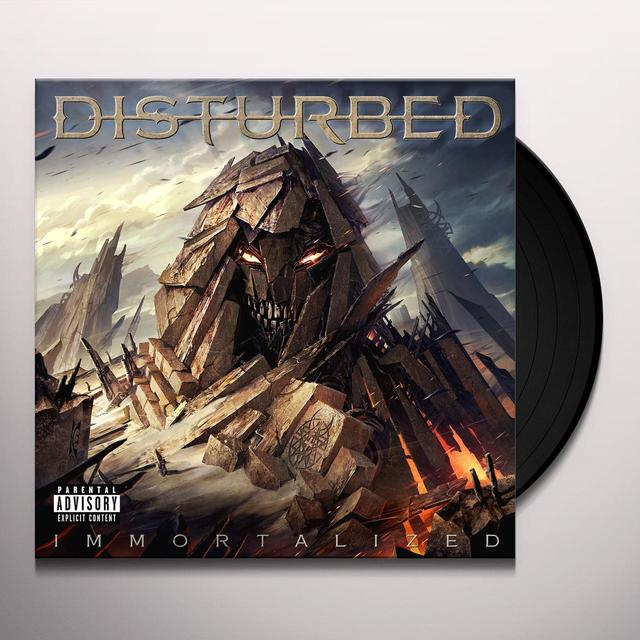 Disturbed IMMORTALIZED Vinyl Record