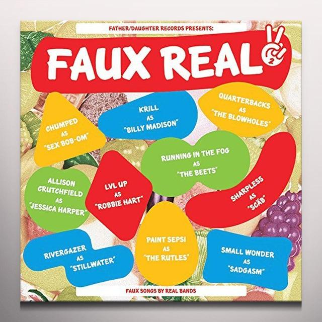 FAUX REAL II / VARIOUS (COLV) (PURP) (DLCD) FAUX REAL II / VARIOUS Vinyl Record - Colored Vinyl, Purple Vinyl, Digital Download Included