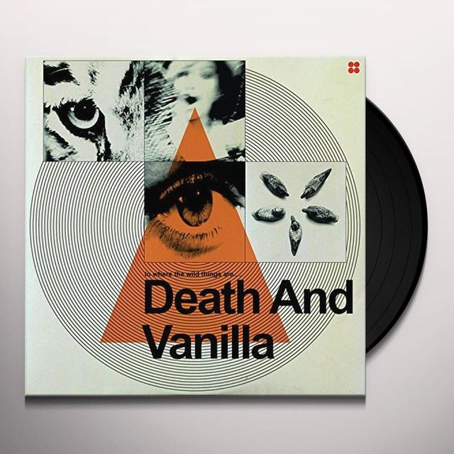 DEATH & VANILLA WHERE THE WILD THINGS ARE Vinyl Record - Black Vinyl
