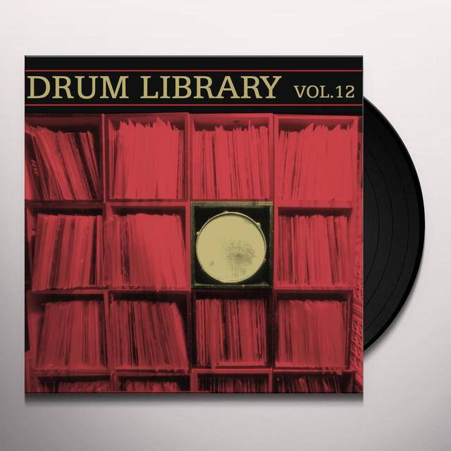 Paul Nice DRUM LIBRARY 12 Vinyl Record